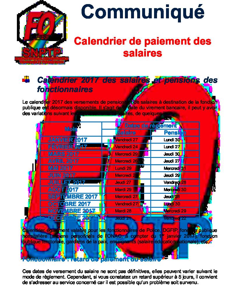 Calendrier Paie Dgfip.Calendrier Paye Dgfip 2020