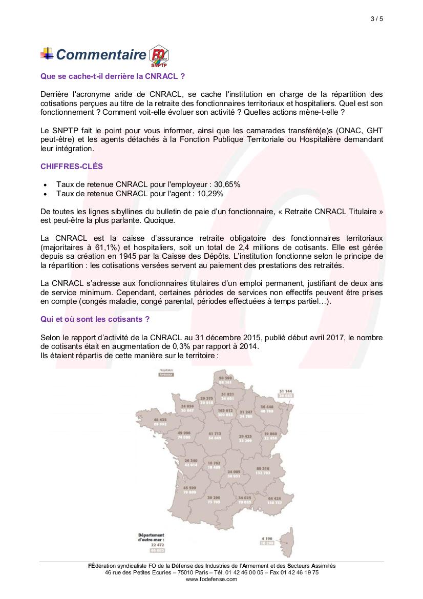 Calendrier Cnracl 2020.Snptp Communique Cnracl